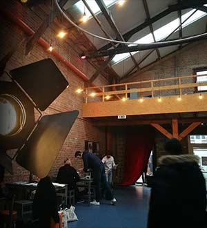 L'école de théâtre et de cinéma à Bruxelles