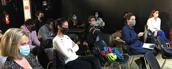 Les mesures sanitaires prises par les élèves et les professeurs du Cours Florent