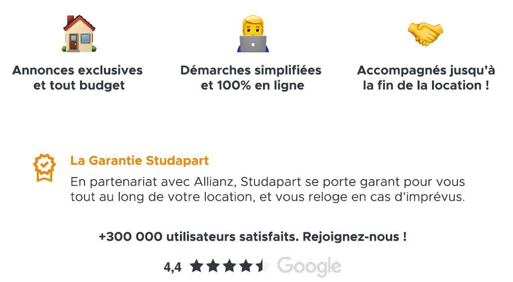 Trouvez votre logement près du Cours Florent avec notre partenaire Studapart