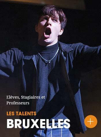 Découvrez les talents du Cours Florent Bruxelles