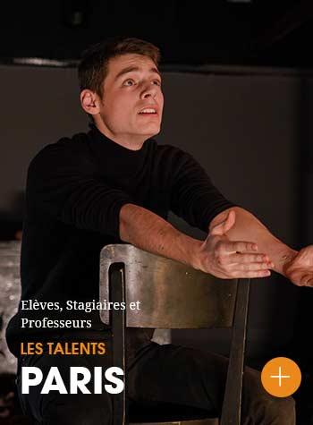 Découvrez les portraits des élèves et professeurs du Cours Florent Paris