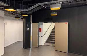 Les salles de cours des nouveaux locaux du Cours Florent à Paris