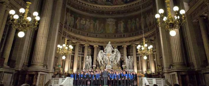 Le Chœur du Cours Florent vous à leurs trois concerts de Noël du 16 au 20 décembre 2018.
