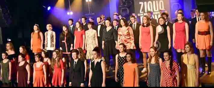 Venez découvrir sur scène les étudiants du Choeur du Cours Florent et du Cours Florent Musique pour trois concerts en hommage à Claude Nougaro.