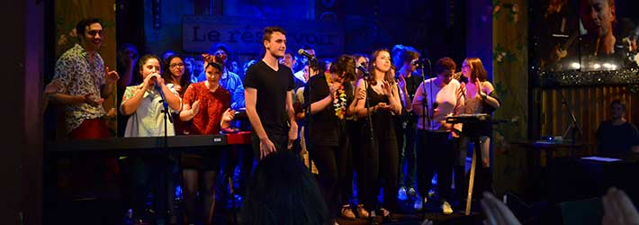 Venez découvrir les talents de demain au dernier concert des élèves du Cours Florent Musique le 26 juin au Point Éphémère.