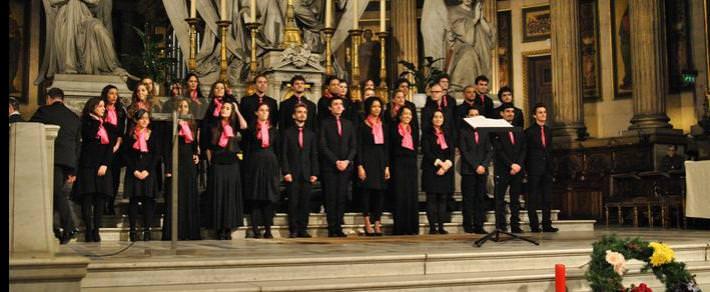 Représentation des élèves en enseignement choeur Cours Florent
