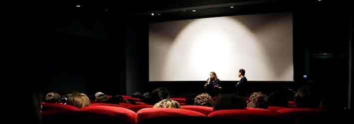 Rencontre des élèves du Cours Florent Cinéma avec l'équipe du film Villeperdue