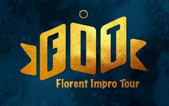 Le Florent Impro Tour, le tournoi d'improvisation du Cours Florent, édition de l'année 2020