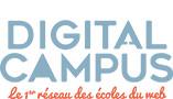 Digital Campus, le 1er réseau des écoles du web